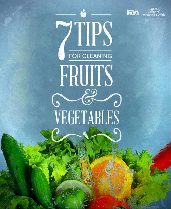 7 Tips for Cleaning Fruits & Vegetables