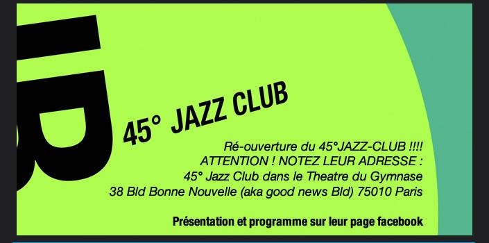 45° JAZZ CLUB