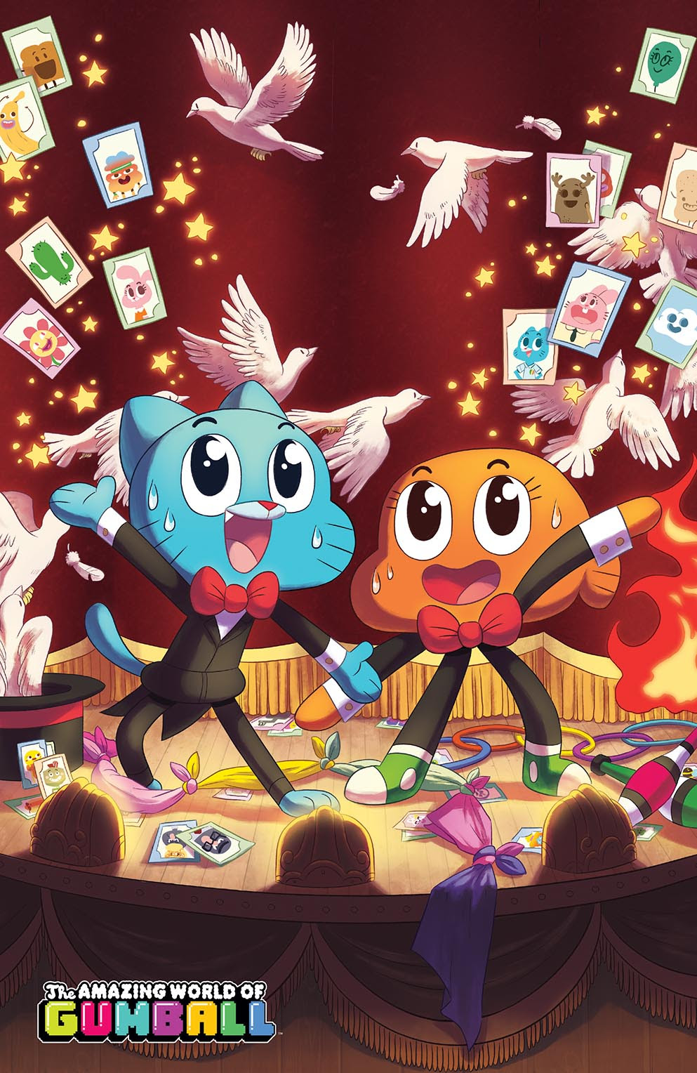 Amazing World of Gumball 2015 Grab Bag Newbury Comics NYCC Cover