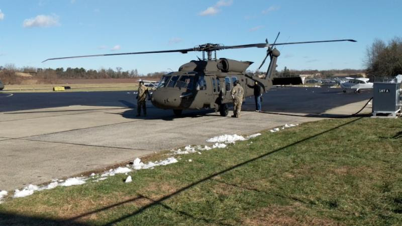 New Black Hawk with only 20 hours on the Hobbs meter.