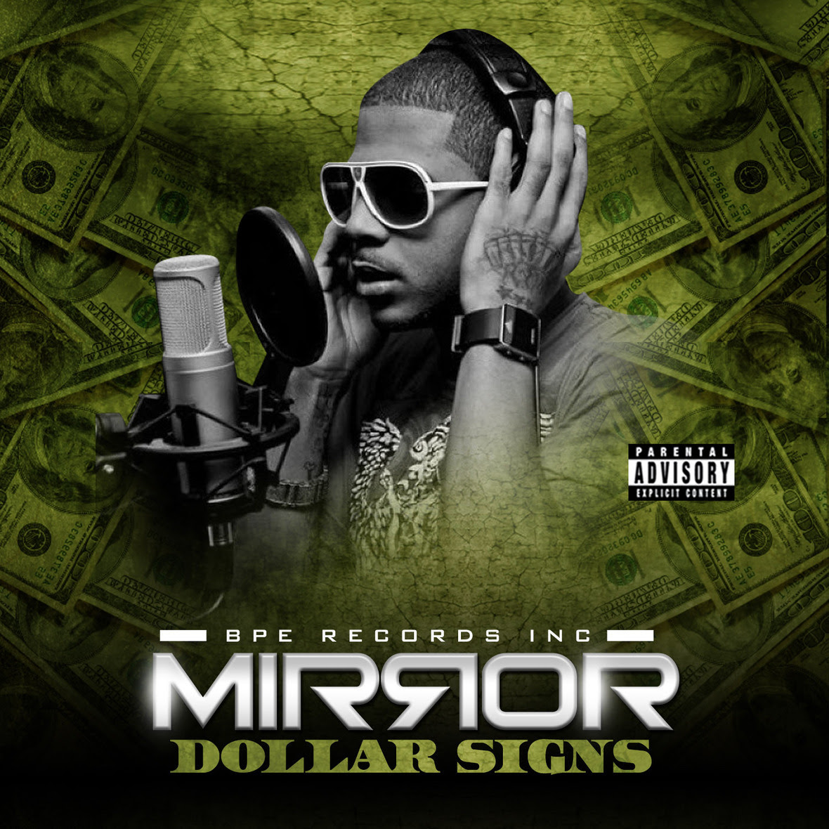 Mirror Dollar Signs Cover