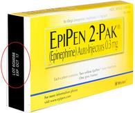 epiPen recall
