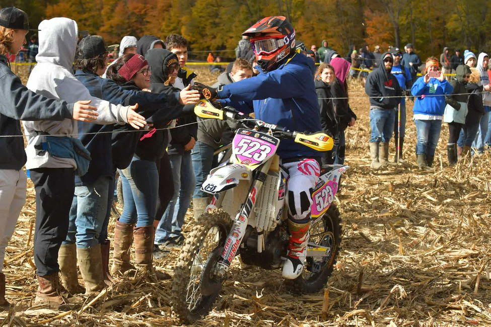 HBD Moto Grafx sold pink number plates before the event, raising $200 this year.