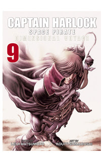 Captain Harlock Space Pirate: Dimensional Voyage Vol. 9