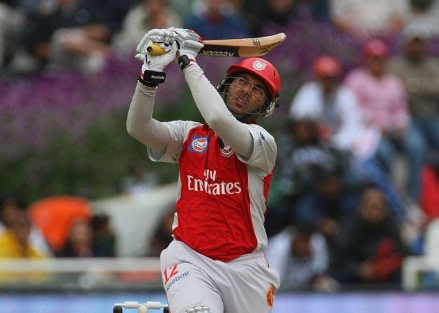 Kings XI Punjab was the first franchise for which Yuvraj Singh played for.