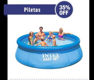 Piletas - 35% OFF. Desde $ 879