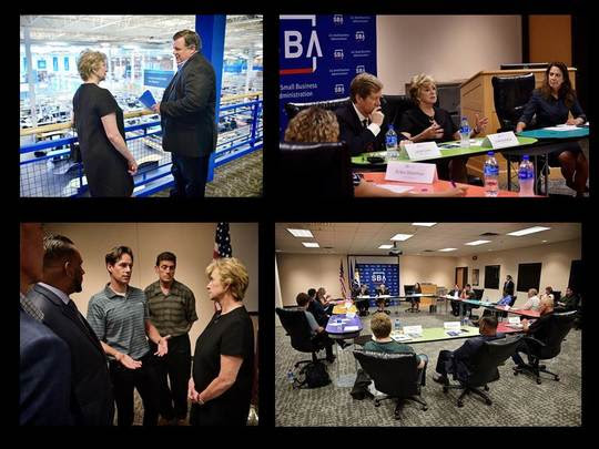 Linda McMahon meets with MN business owners