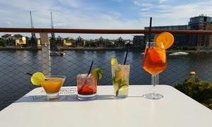 Four Rooftop Terrace Cocktails
