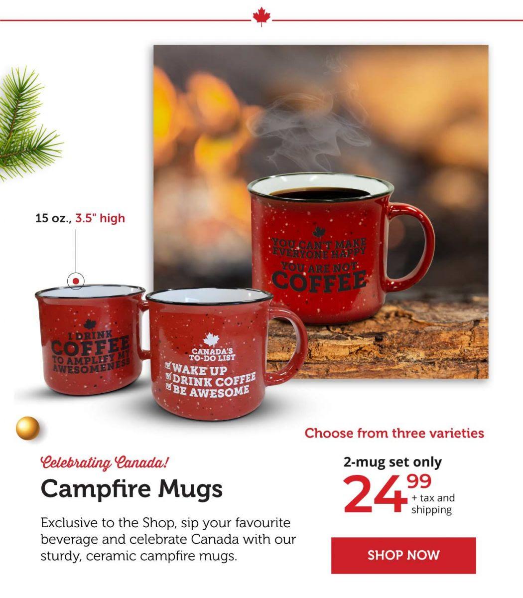 Campfire Mugs - Celebrating Canada