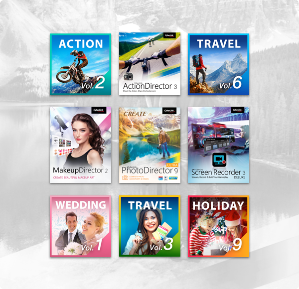 Humble Software Bundle: Video & Photo Editing 2018 by Cyberlink