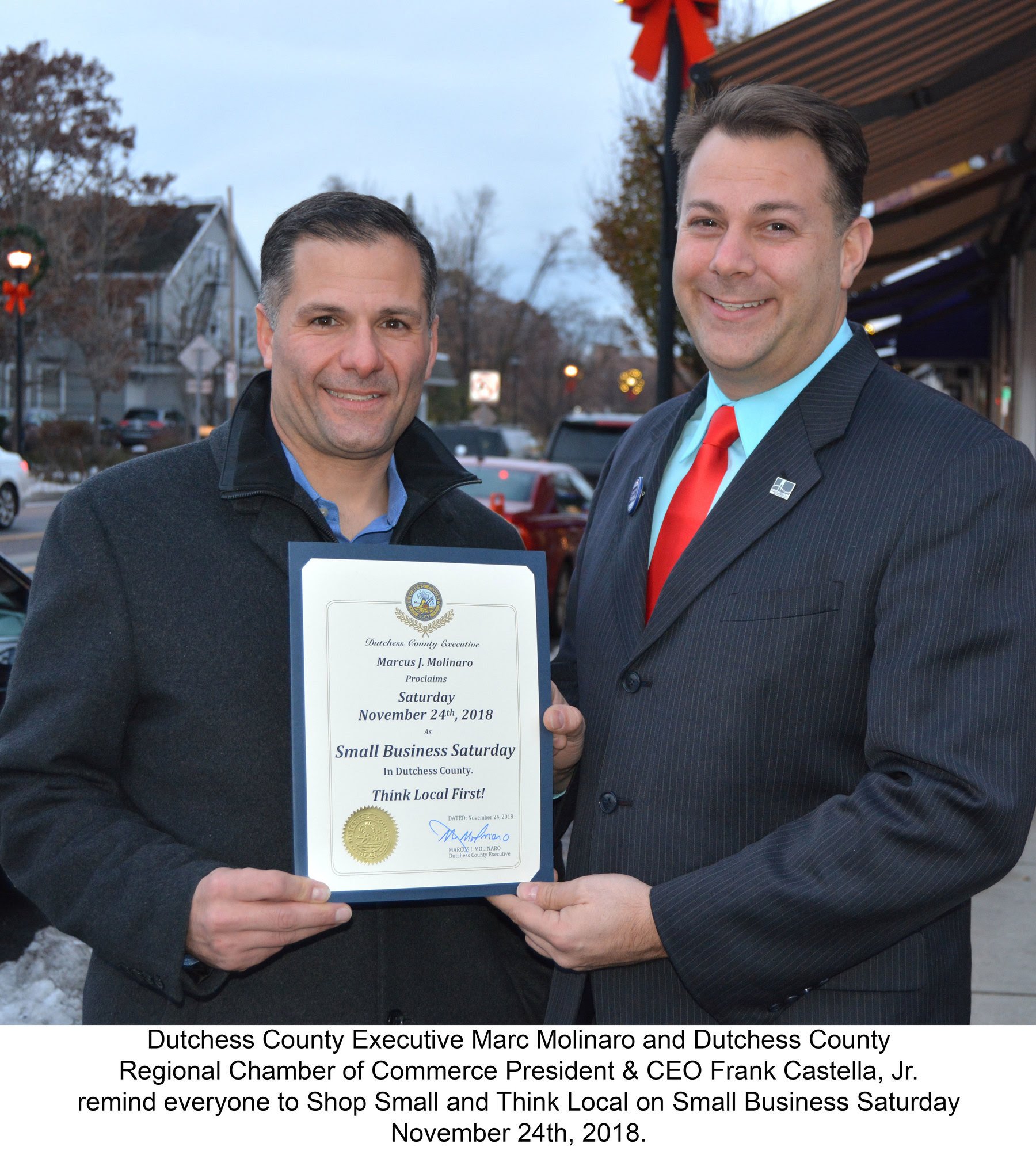 Saturday, November 24th is Small Business Saturday in Dutchess County