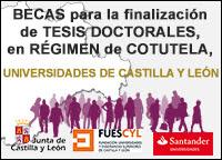 Becas para Tesis Doctorales Universidades de Castilla y León
