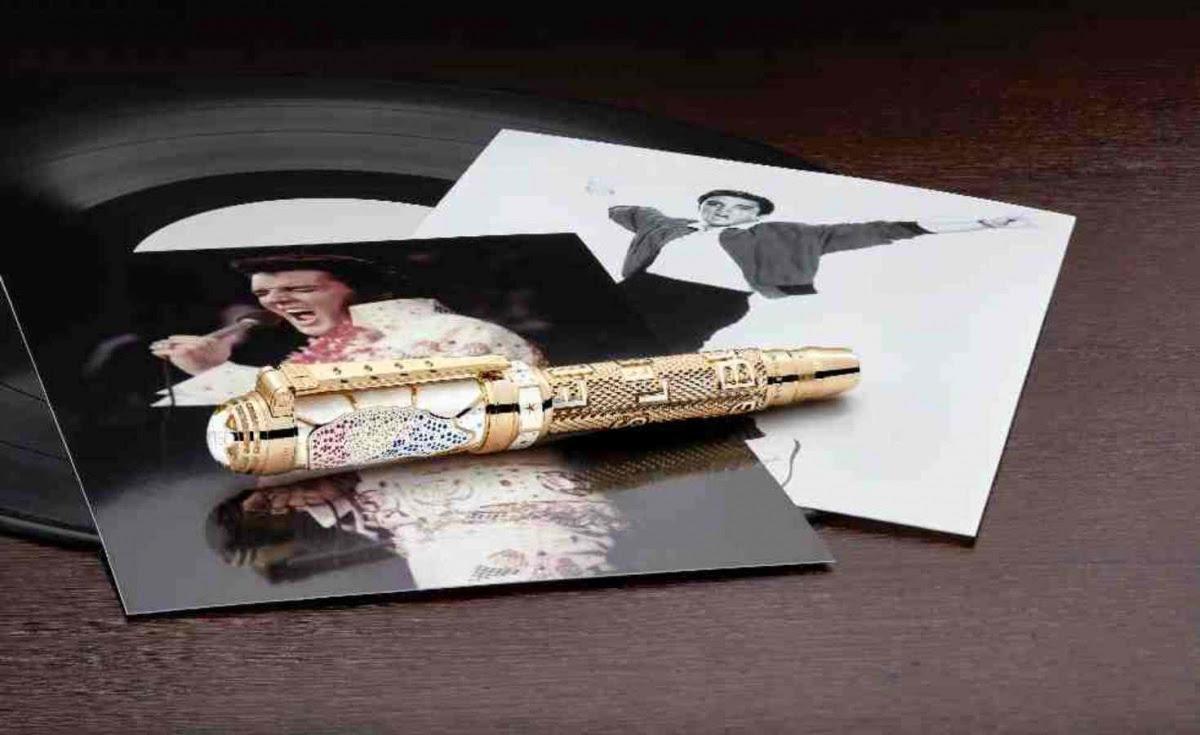 Montblanc rinde homenaje a Elvis Presley
