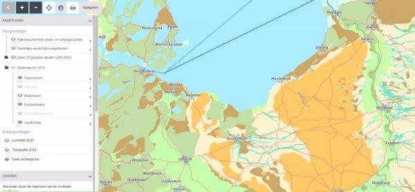 Navigeren door 16e-eeuws Nederland