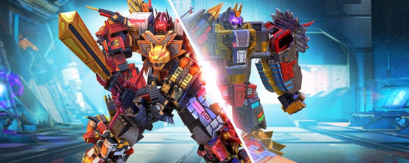 Transformers News: Transformers: Earth Wars Event - Volcanicus vs Predaking