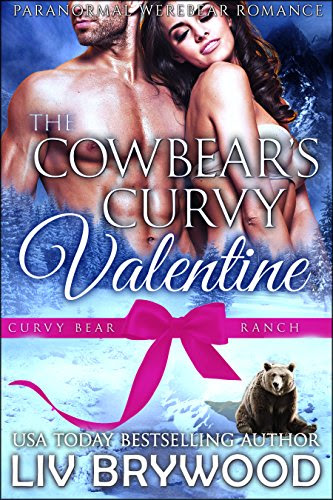 Cover for 'The Cowbear's Curvy Valentine (Curvy Bear Ranch Book 5)'