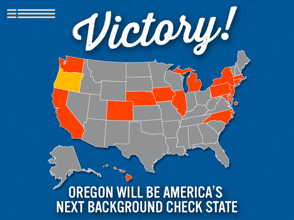 Victory in Oregon!