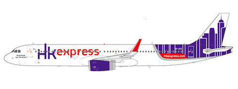 Airbus A321 Hong Kong Express B-LEE | is due: August 2019