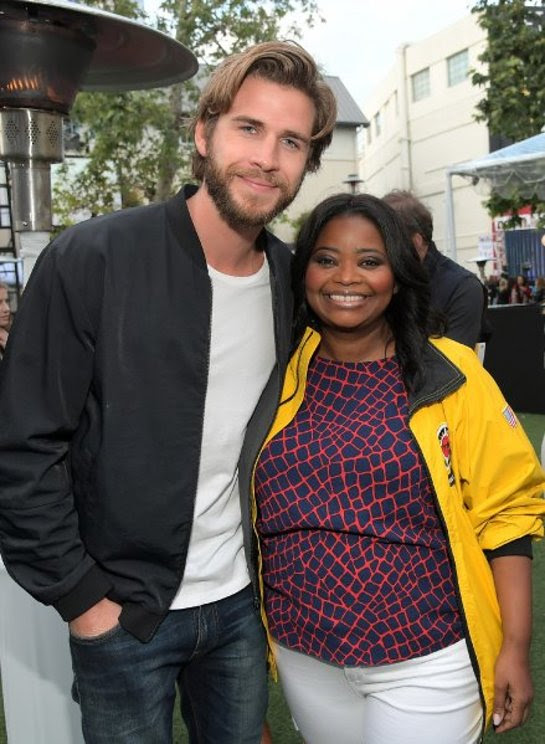 Liam Hemsworth and Octavia Spencer attend City Year Los Angeles Spring Break