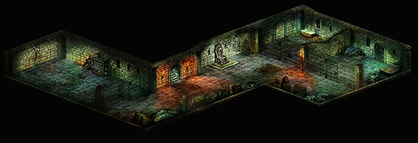 Torture Chamber 3D Layout