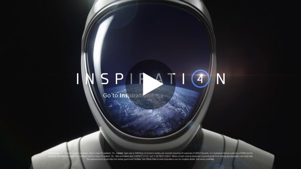 Super Bowl Ad for Inspiration4 Invites Viewers to Join World's First All-Civilian Mission to Space
