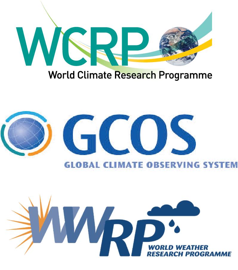 WCRP-GCOS-WWRP