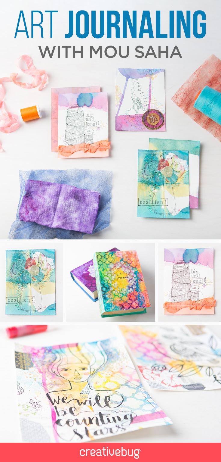 New Class! Art Journaling: Mix...