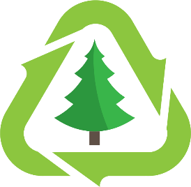 Image result for christmas tree recycling