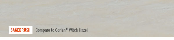 SAGEBRUSH. Compare to Corian® Witch Hazel