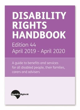 Picture of the Disability Rights Handbook Edition 44 April 2019 - April 2020