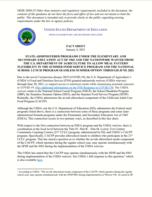 USDA Fact Sheet