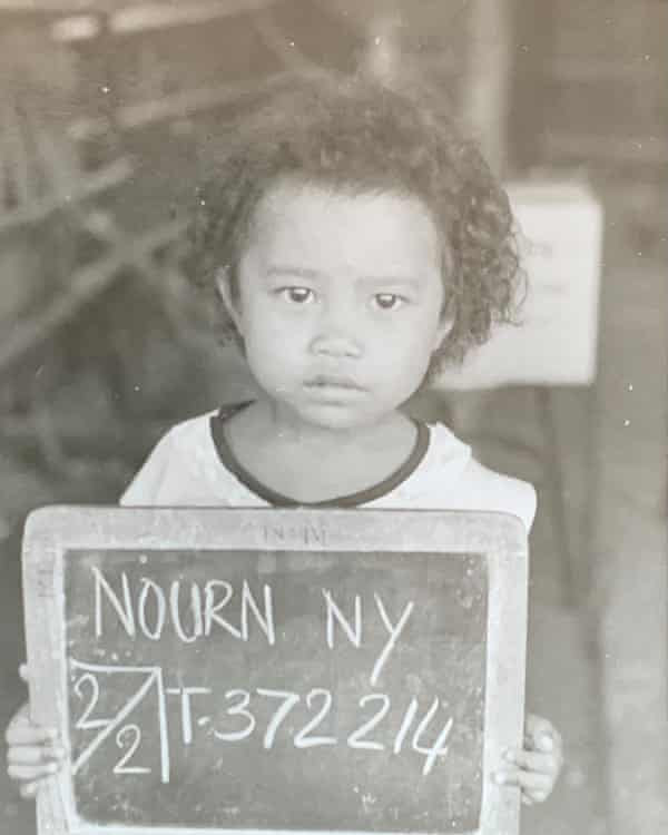 Nourn as a young child.