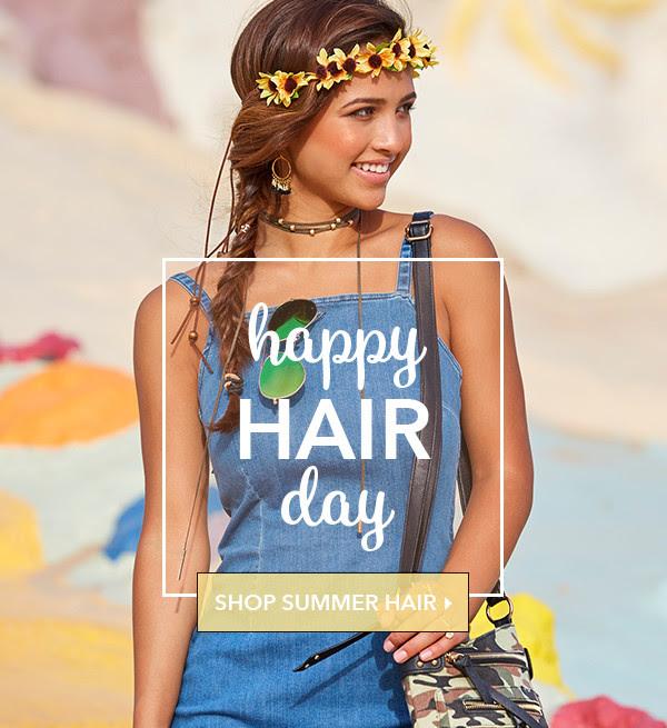 Happy Hair Day - SHOP SUMMER HAIR