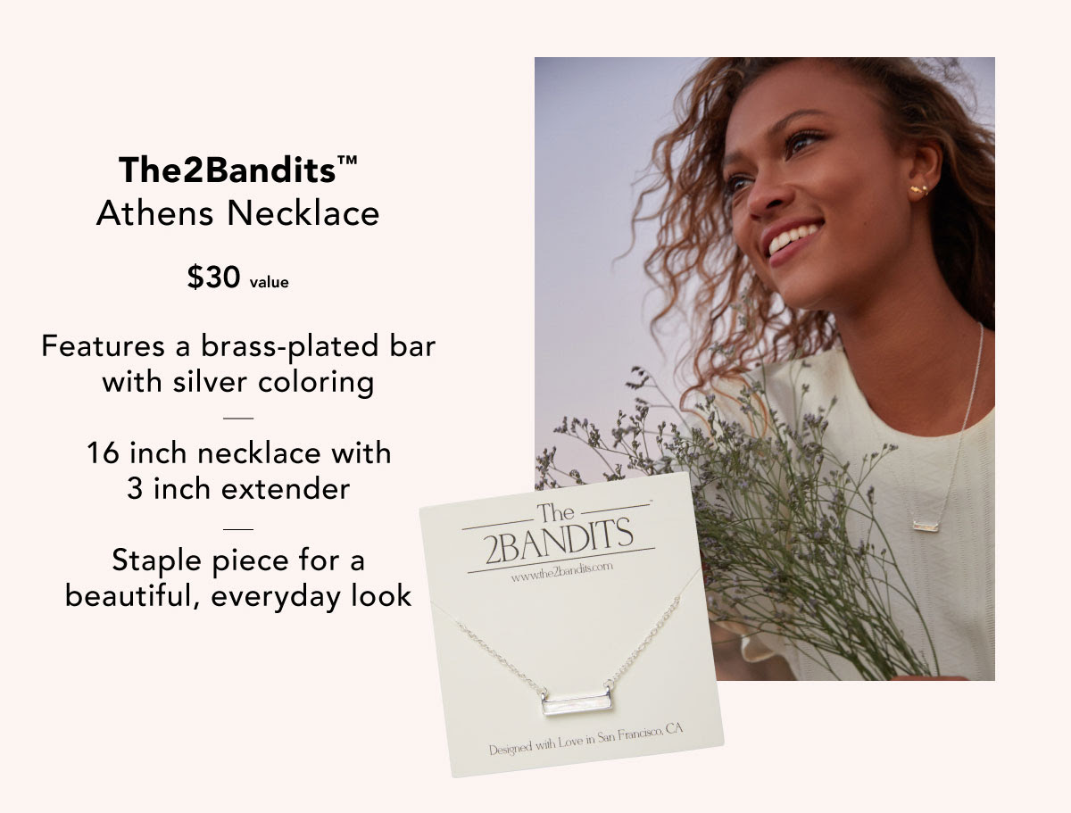The 2Bandits™ Athens Necklace