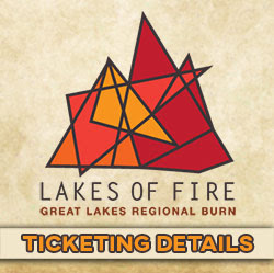 Lakes of Fire Ticketing Details