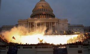 Seguidores de Trump irrumpen en el Capitolio.