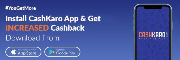 Cashkaro Mobile app