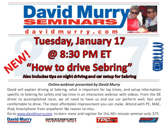 DMS Drive Sebring flyers