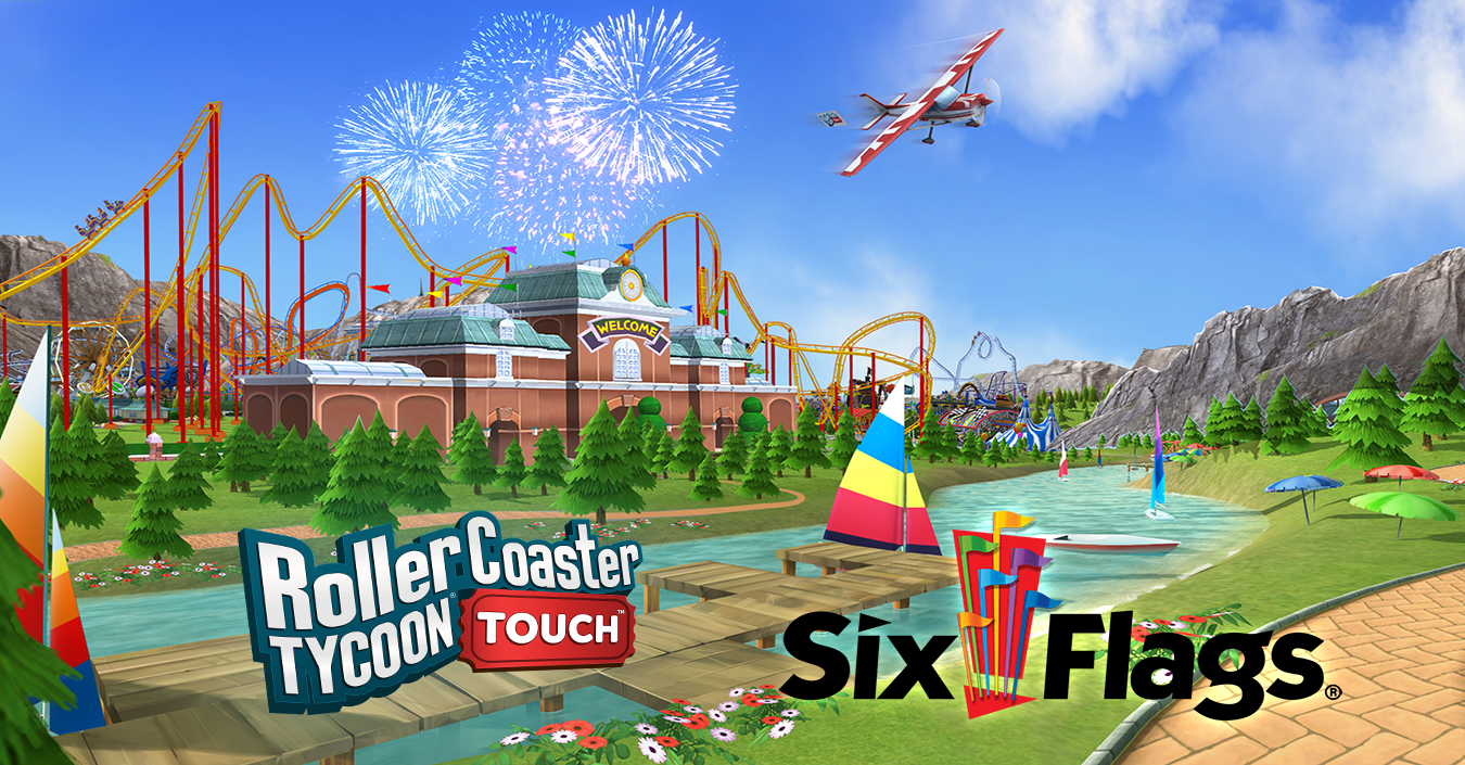 Atari Partners with Six Flags to Add Branded Real-World