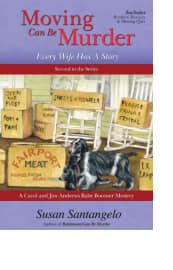 Moving Can Be Murder by Susan Santangelo
