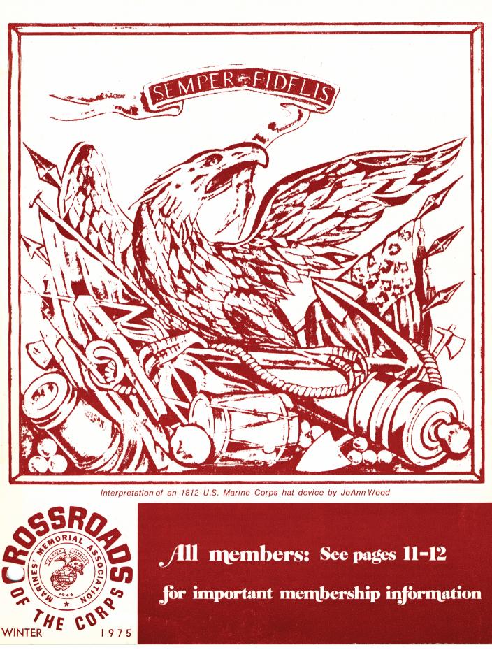 Winter 1975 Crossroads cover