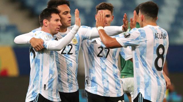 Argentina domina e vence Venezuela por 3 a 1 nas Eliminatórias
