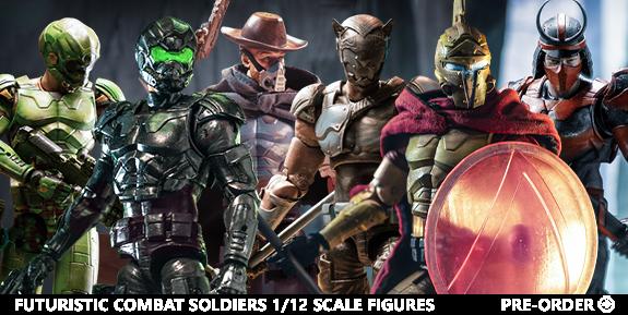 Futuristic Combat Soldiers