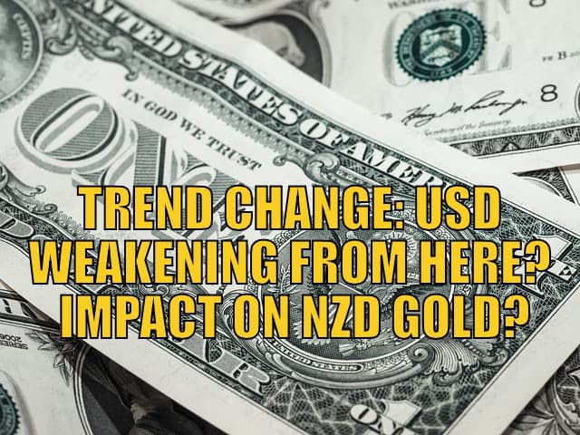 USD Weakening
