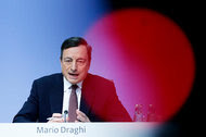 Mario Draghi, president of the European Central Bank, whose Governing Council met on Thursday.