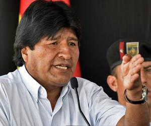 Evo Morales.