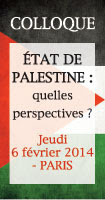 Colloque palestine