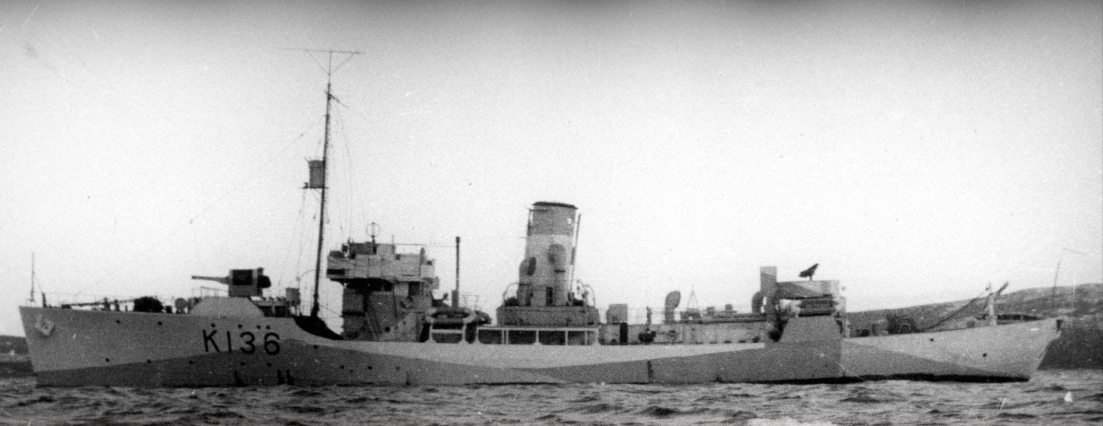 The disappearance of HMCS Shawinigan