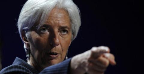 Christine Lagarde, en una imagen de archivo. REUTERS