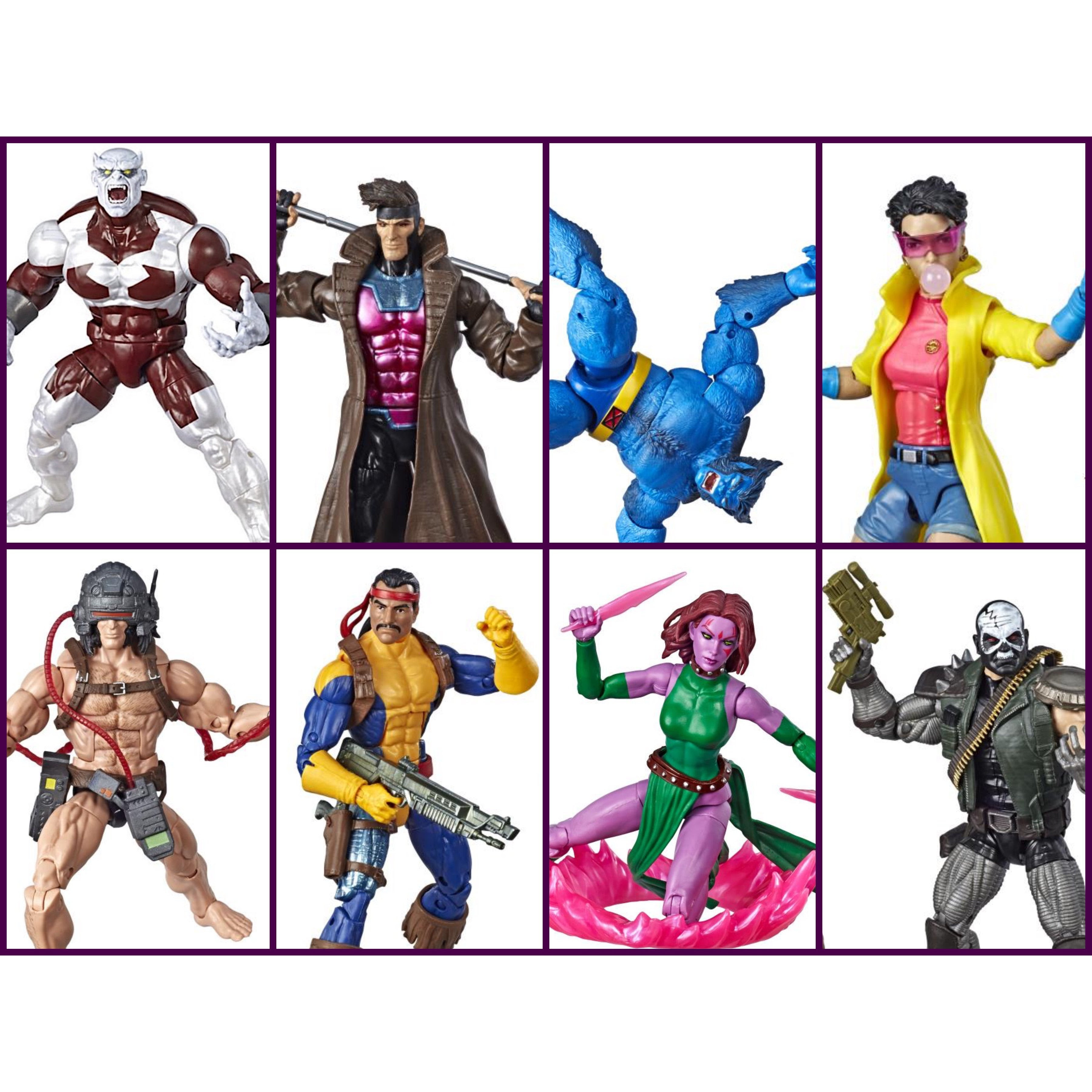 Image of X-Men Marvel Legends Wave 4 Set of 7 Figures (Caliban BAF) - MAY 2019
